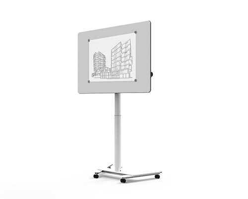 Dinamica Solo: Ein mobiler Multifunktionstisch für modernes Arbeiten.