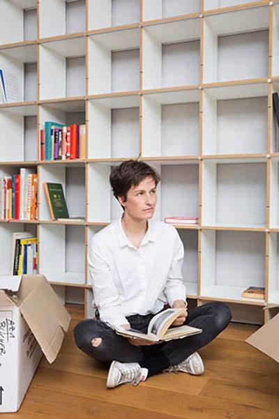 Moormann FNP bietet Platz und Stauraum für Bücher, Accessoires, Deko und vieles mehr...