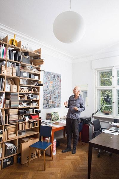 Axel Kufus ist der Erfinder des FNP Regals