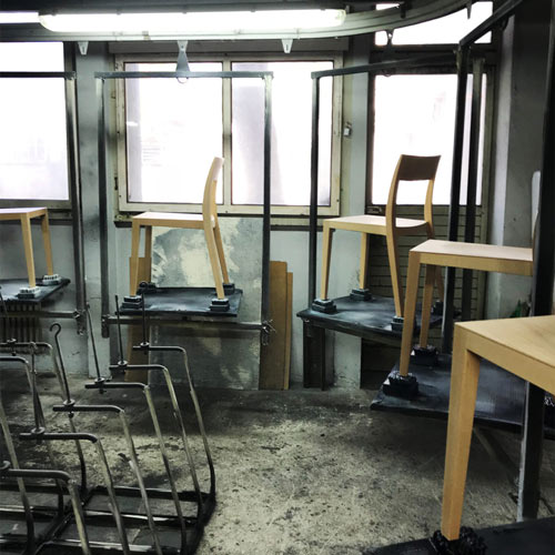 horgenglarus Stühle in der eigenen Manufaktur