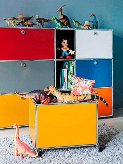 USM Haller Möbel bringen Ordnung ins Kinderzimmer