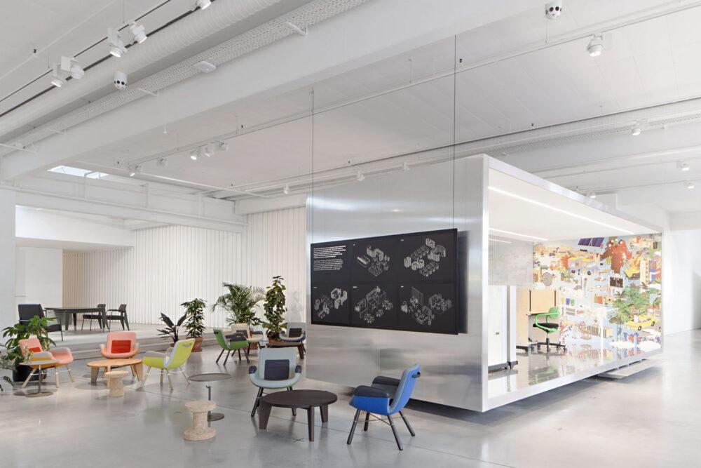 Workspace Office mit Think Tank
