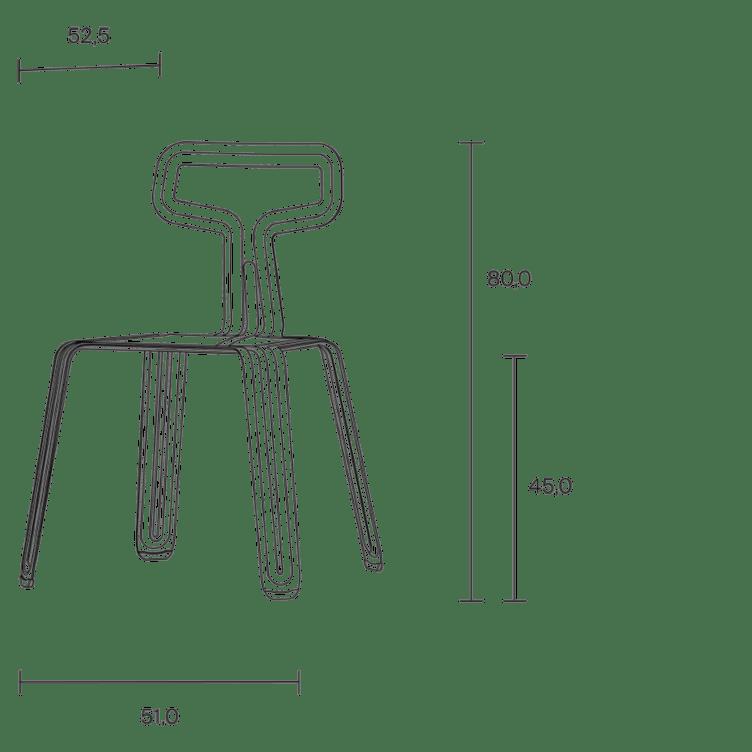 moormann pressedchair stuhl vermassung
