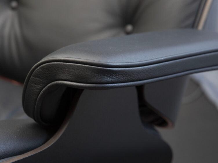 vitra eames lounge chair esche schwarz nero