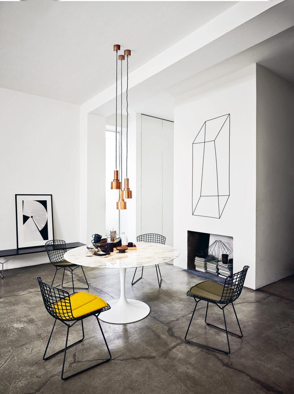 Bertoia Side Chair, Knoll International // Harry Bertoia (1951)