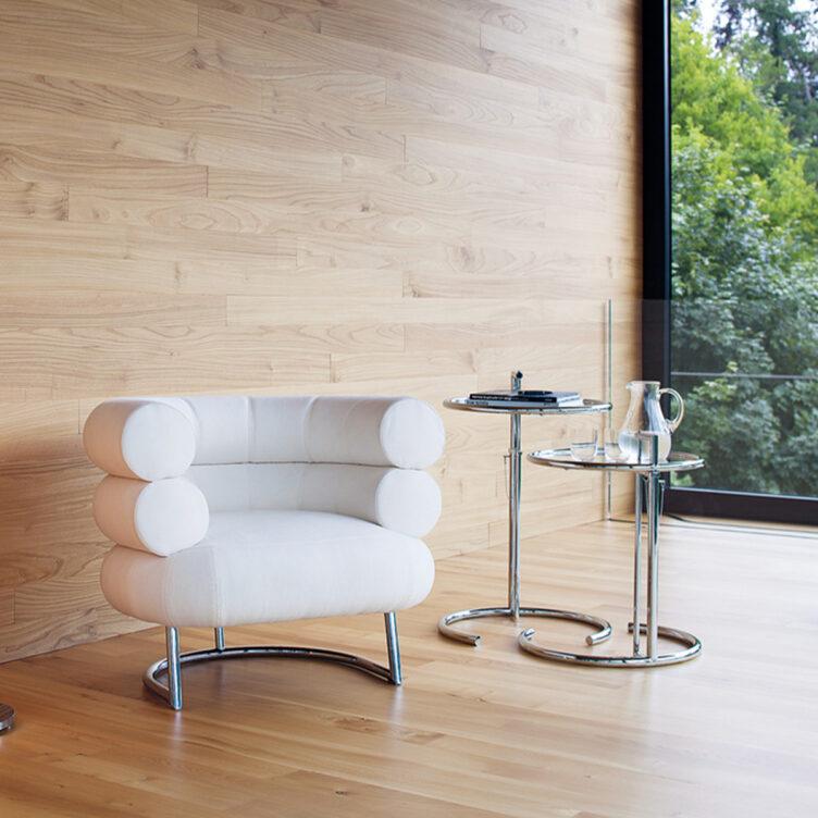 Classicon Adjustable Table E1027 - Beistell- und Couchtisch von Eileen Gray