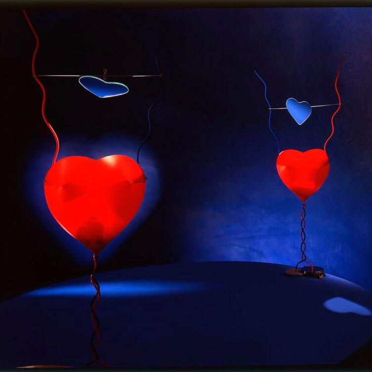 Ingo Maurer One of the Heart Tischleuchte