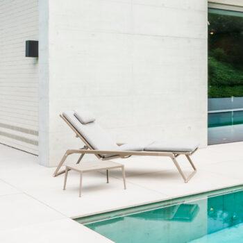 B&B Italia Mirto Chaise Longue outdoor Gartenliege