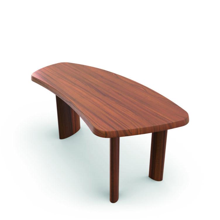 Schreibtisch - petit bureau en forme libre Cassina von charlotte Perrand